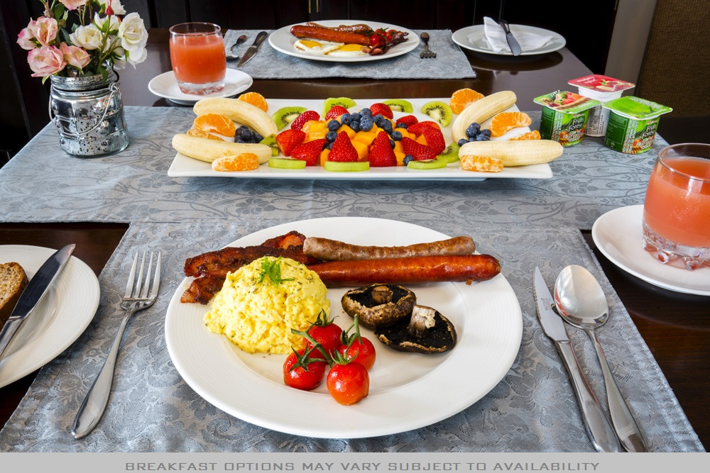 Holiday Guest House Breakfast