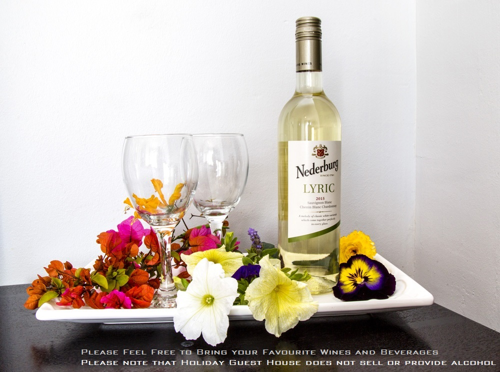 Holiday Guest House Wine Welcome